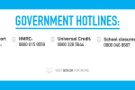 Hotline numbers for government advice